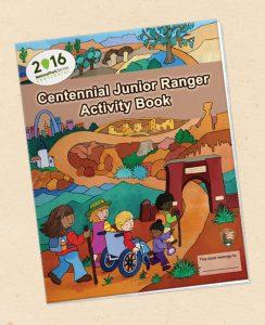 2016 centennial jr ranger book