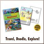 travel doodle explore